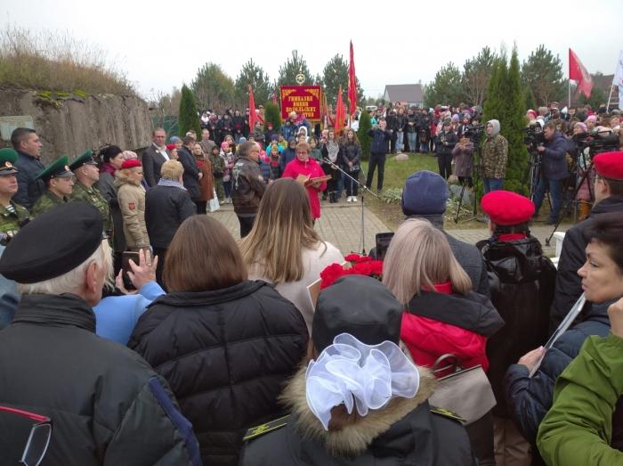 5 октября в Московской области отмечается день Памяти Подольских курсантов